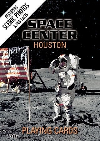 Space Center Houston Souvenir Playing Cards