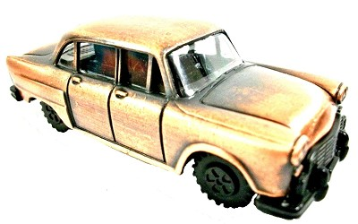 1957 Plymouth Die Cast Metal Pencil Sharpener