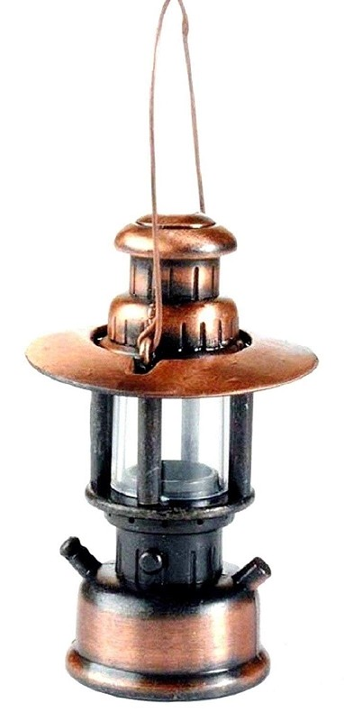 Old Time Lantern Die Cast Metal Collectible Pencil Sharpener