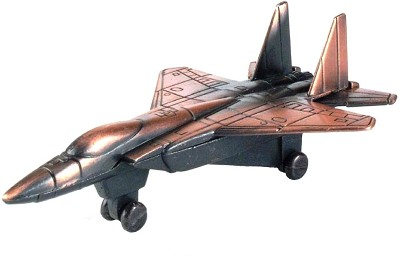 F-15 Fighter Jet Die Cast Metal Collectible Pencil Sharpener