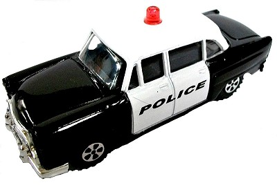 Police Car Die Cast Metal Collectible Pencil Sharpener