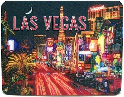 Las Vegas Blvd. 3D Fridge Magnet