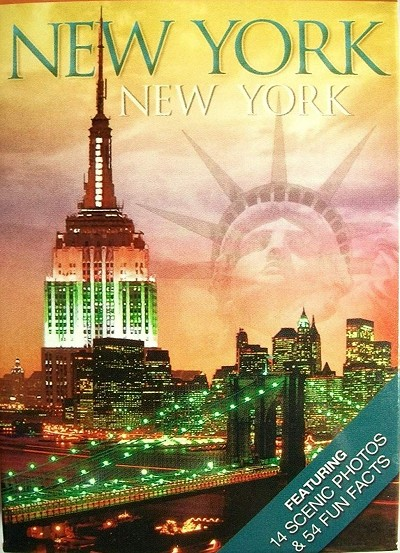 New York New York Souvenir Playing Cards