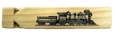 Olde Time 3 Tone Wood Train Whistle